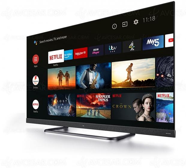 Concours TCL/AVCesar.com, tentez de gagner un Smart TV Android 9.0 TCL 65EC780