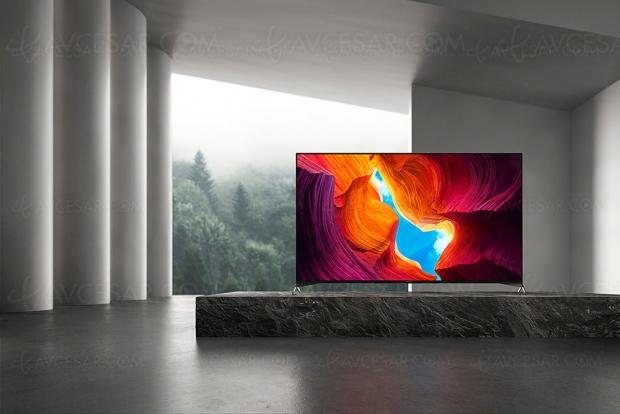CES 20 > TV LED Ultra HD 4K Sony XH9505, 5 modèles Full LED du 49'' au 85''