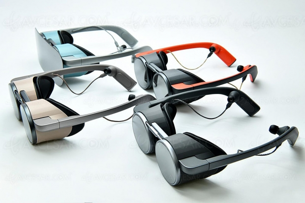 CES 20 > Premières lunettes à réalité virtuelle Ultra HD HDR par Panasonic