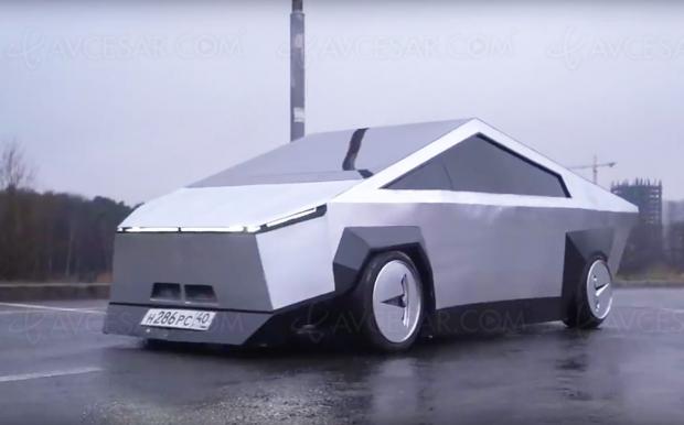 Tesla Cybertruck : une copie russe pour 30 fois moins cher