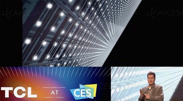 CES 20 > TV QLED TCL Vidrian Mini LED 5 184 zones, disponibilité fin 2020