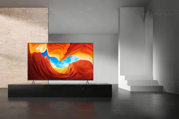 CES 20 > TV LED Ultra HD 4K Sony XH9005, 4 modèles Full LED du 55'' au 85''