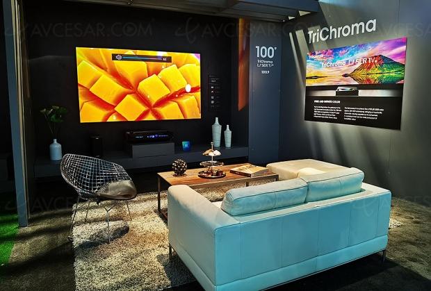 CES 20 > Hisense Laser TV TriChroma L9 Ultra HD/4K HDR, 100% Rec.2020, 3 200 lumens…