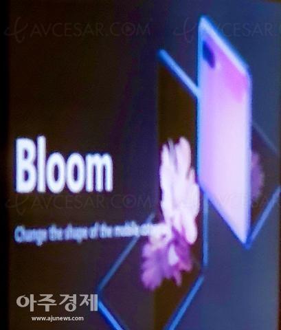 Galaxy Bloom ou Galaxy Z Flip, prochain smartphone pliable de Samsung, deux fois moins cher que le Galaxy Fold ?