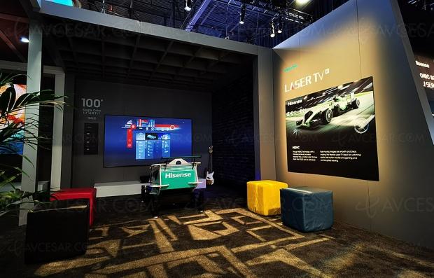 CES 20 > Hisense Laser TV L5 Ultra HD/4K HDR, 95% Rec.2020, 2 600 lumens…