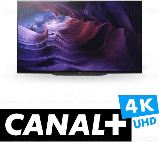 MyCanal Ultra HD 4K sur 6 séries Smart TV Sony 2019 et 100% des Smart TV Sony 2020