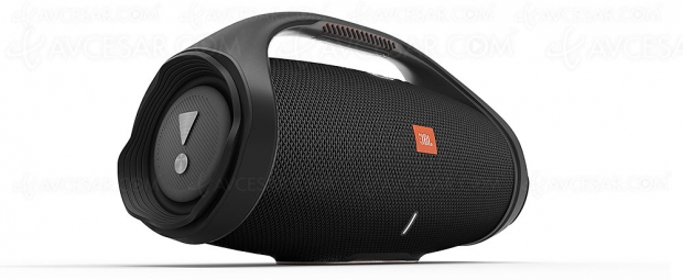 CES 20 > JBL Boombox 2 , enceinte nomade Bluetooth, IPX7 et PartyBoost