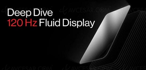 OnePlus dévoile un écran smartphone 120 Hz (pour le OnePlus 8 ?)