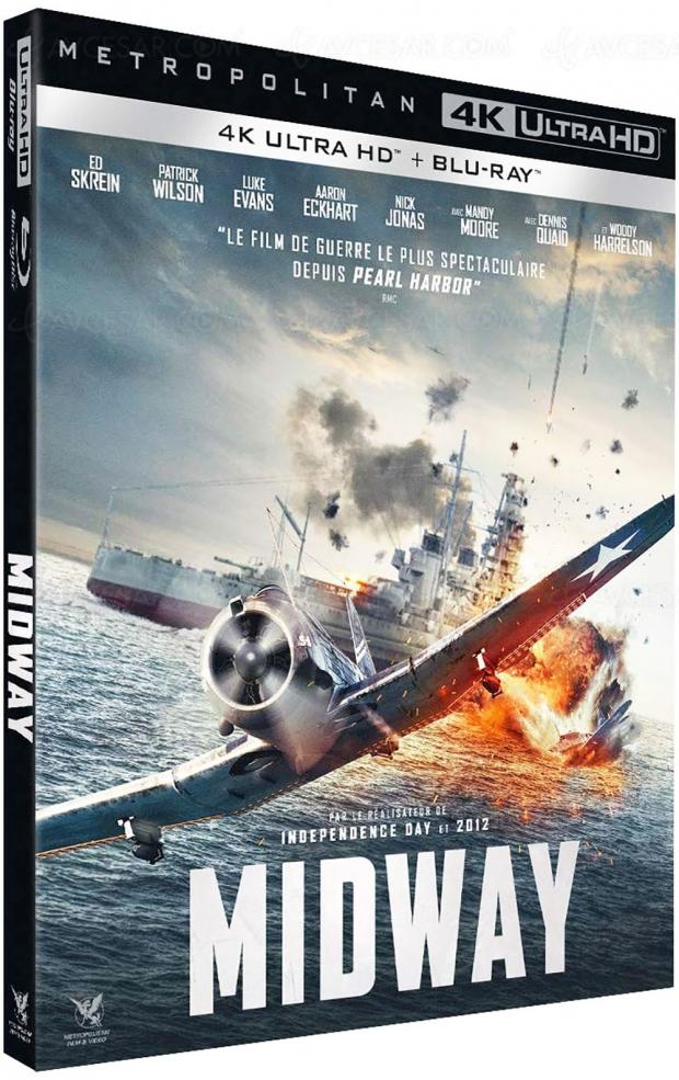 Midway : Roland Emmerich ressuscite la cruciale bataille en 4K Ultra HD