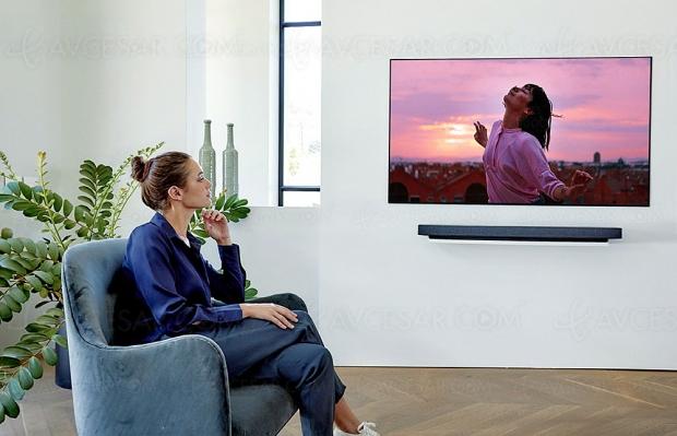 CES 20 > Gamme TV Oled LG BX, LG CX, LG GX et LG WX : mise à jour spécifications