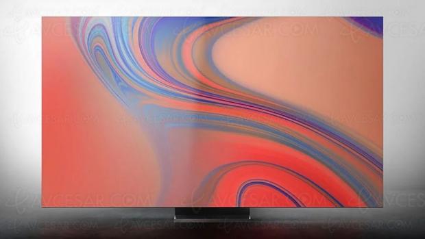 CES 20 > TV QLED Samsung Ultra HD 4K/8K, filtre anti‑chaleur/infrarouge sur les 75'' et plus