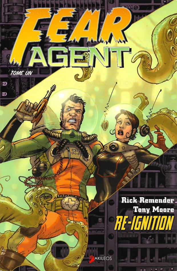 Seth Rogen derrière l'adaptation série de la BD Fear Agent pour Amazon