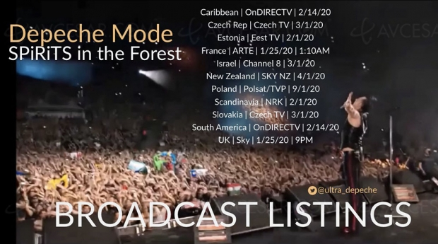 Depeche Mode Spirits in the Forest : comment le voir si vous l'avez loupé cette nuit sur Arte