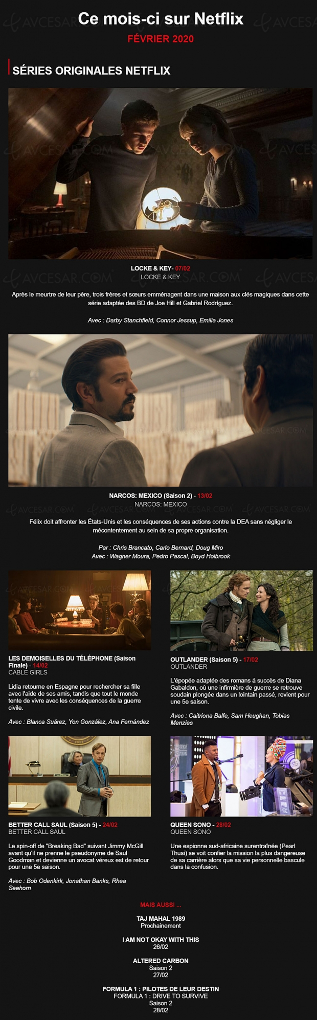 Quoi de neuf sur Netflix en février ? Better Call Saul de retour !