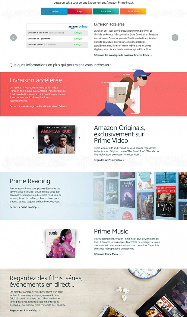 Amazon Prime : le cap des 150 millions d'abonnés franchi