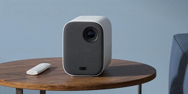 Vidéoprojecteur Mi Smart Compact Projector, mini‑vidéoprojecteur Full HD Android TV 9.0