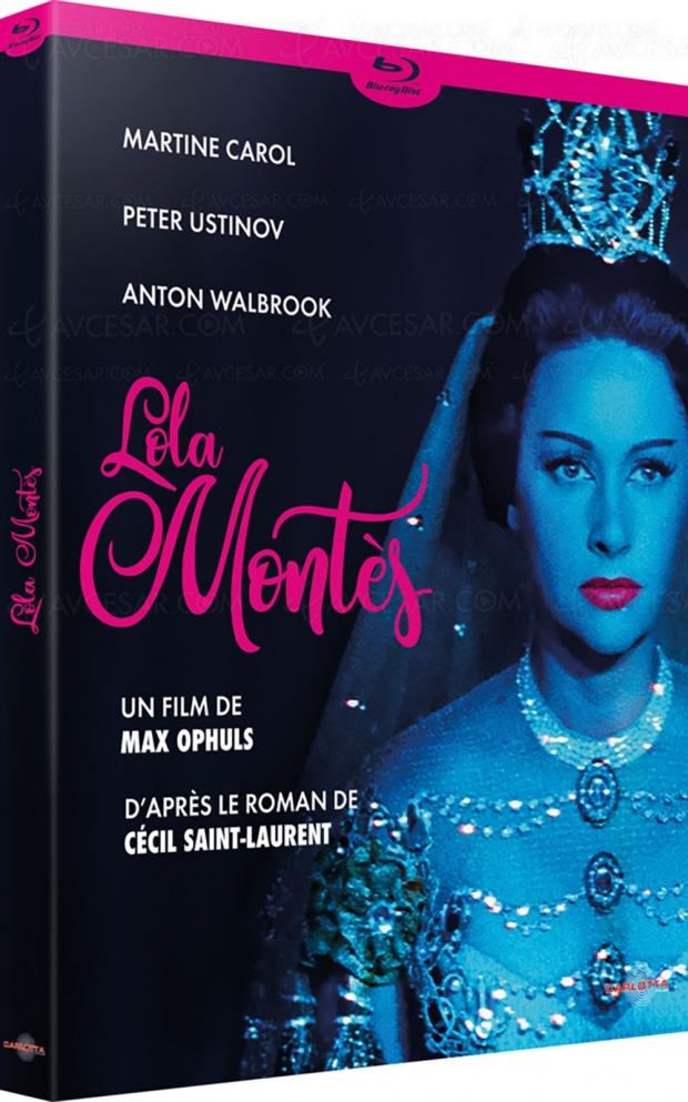 La ronde et Lola Montès de Max Ophüls, bientôt en Blu-Ray et DVD chez Carlotta
