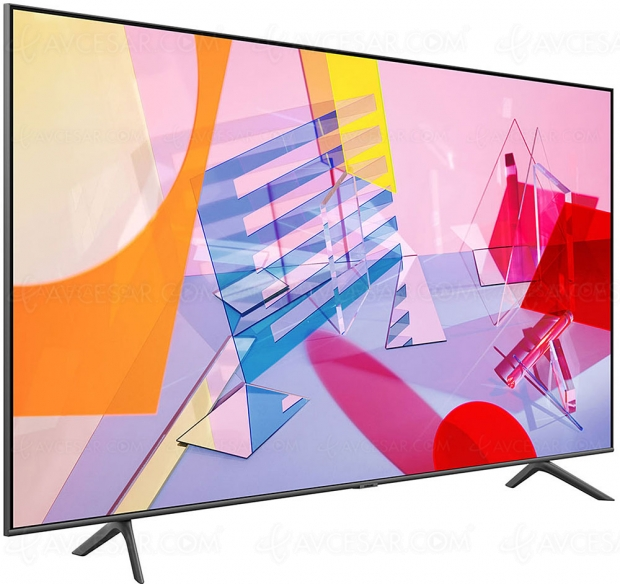 TV QLED Ultra HD/4K Samsung Q60T : 43''/49