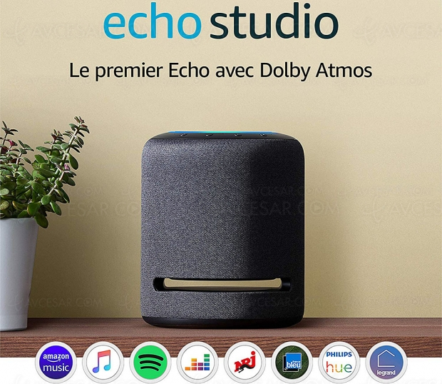 Test enceinte Amazon Echo Studio, en ligne