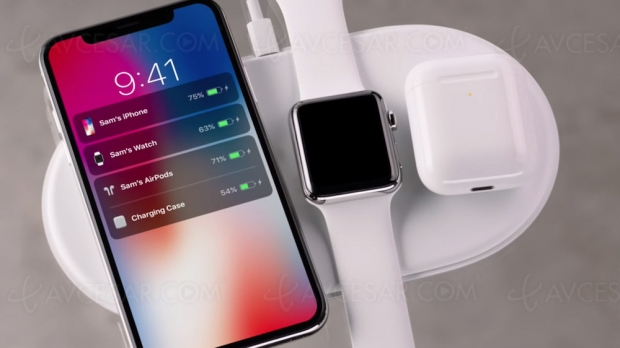 Apple AirPower : socle de recharge sans‑fil en 2020 ?