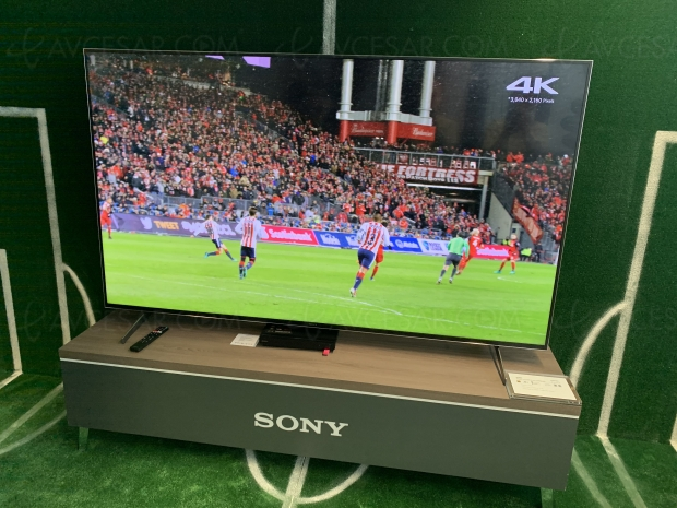 TV Oled/LCD Sony 2020 HDMI 2.1 : mise à jour spécifications