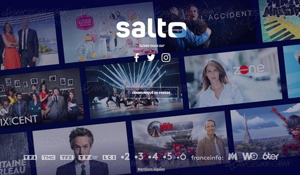 Arrivée le 3 juin pour Salto, plateforme de streaming française