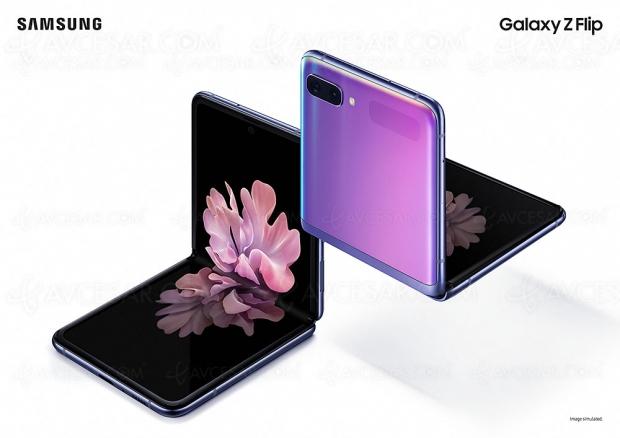 Smartphone pliable Samsung Galaxy Z Flip, présentation officielle