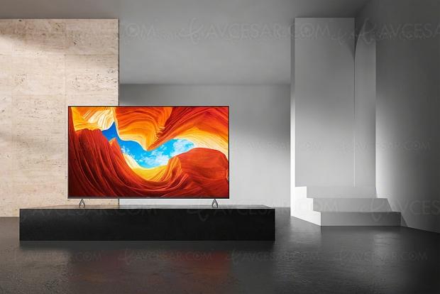 TV LED Ultra HD 4K Sony XH9005, mise à jour spécifications