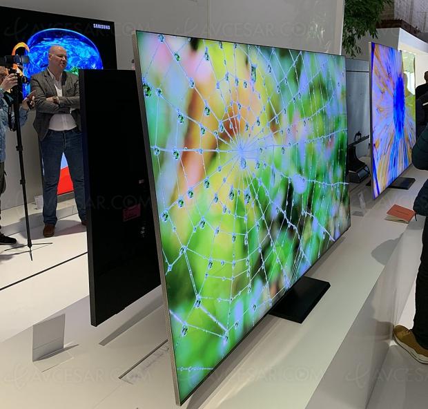 TV QLED Ultra HD 8K Samsung Q950T, mise à jour spécifications techniques et prix indicatifs