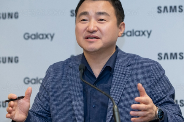 Smartphone Samsung pliable en 3 ? Oui, c'est possible
