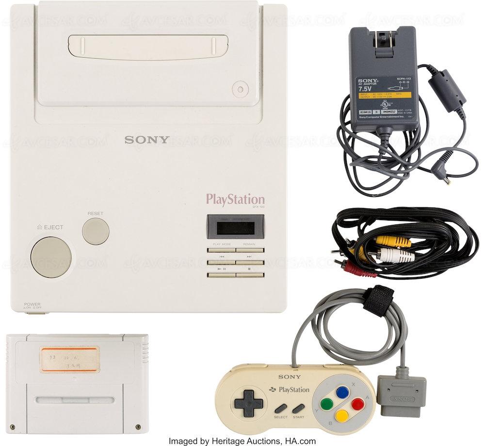 Les enchères de l'unique prototype dépassent déjà les 300 000 — Nintendo PlayStation
