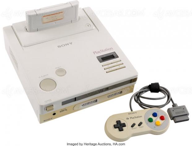Prototype Nintendo PlayStation : enchères historiques