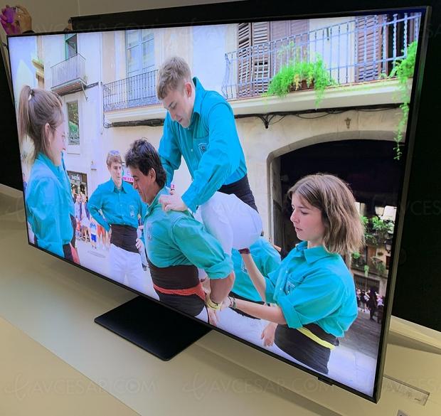 TV QLED Ultra HD 8K Samsung Q800T, mise à jour spécifications techniques et prix indicatifs