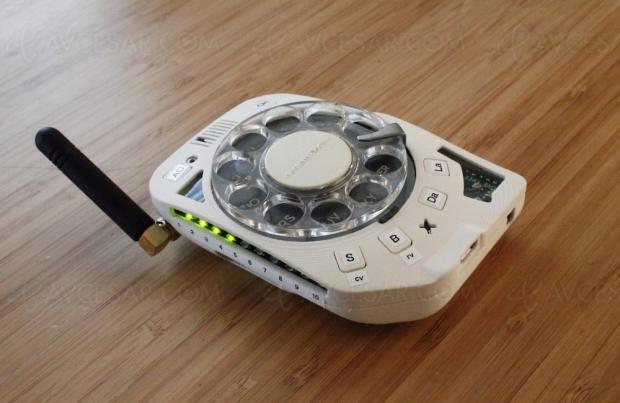 Comment fabriquer un téléphone mobile vintage à cadran ?