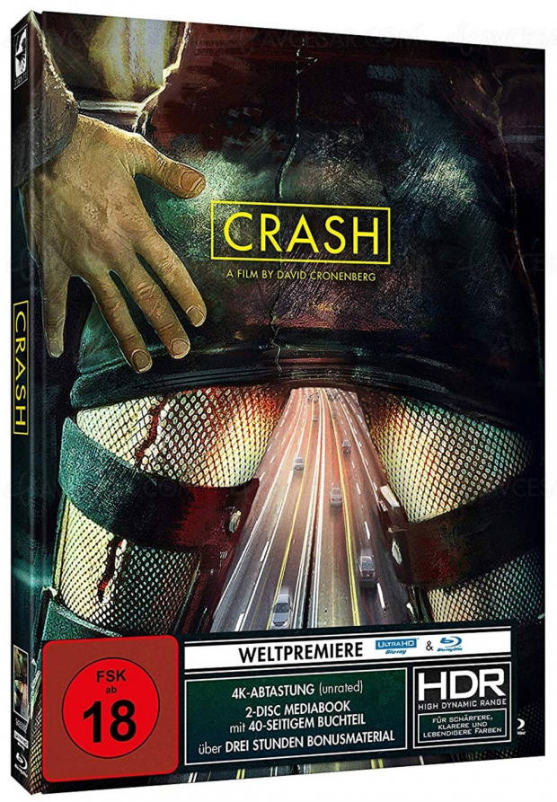 Crash non censuré, le premier film de David Cronenberg en 4K Ultra HD
