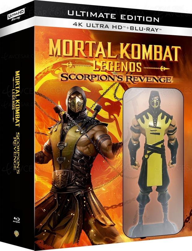 Mortal Kombat Legends : Scorpion's Revenge, étonnant 4K Ultra HD avec goodies