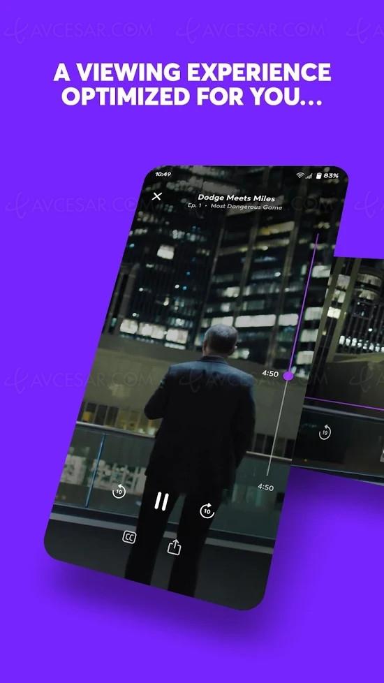 Quibi, premiers visuels de la plateforme de streaming mobile dédiée aux formats courts