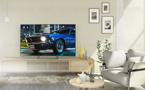 TV LED Ultra HD 4K Panasonic HX830 : 40'', 50'', 58'' et 65'' annoncés