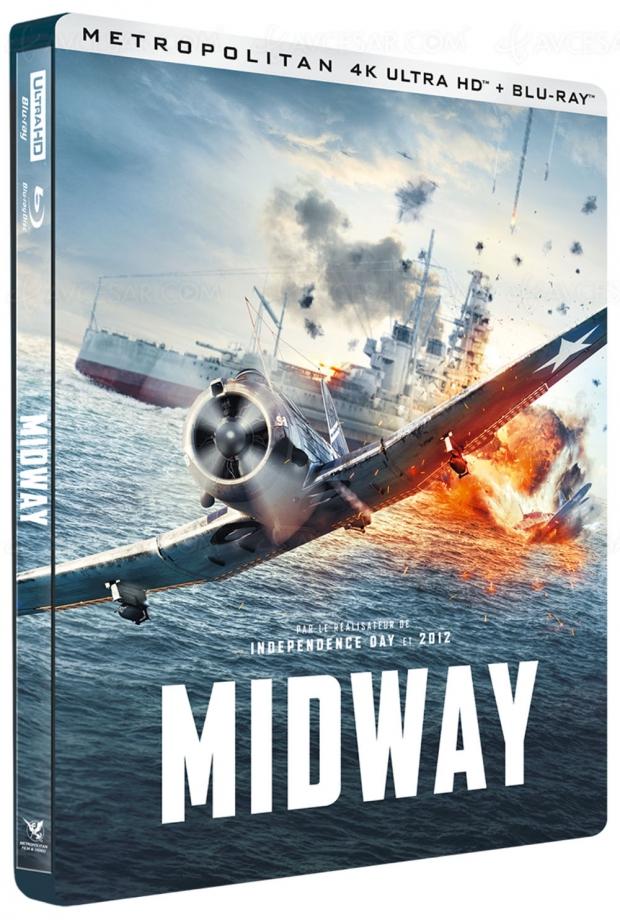 Midway 4K Ultra HD, pas de Dolby Atmos mais des bonus à la pelle