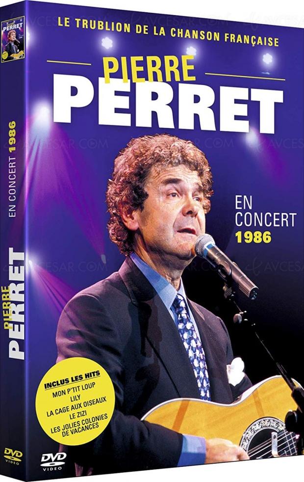 Un concert inédit de Pierre Perret pour la première fois en DVD avant « adieux provisoires »