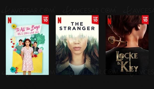 Nouvelle fonction Top 10 sur Netflix
