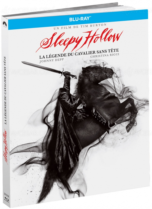 Sleepy Hollow, la légende du cavalier sans tête, édition Blu-Ray Médiabook