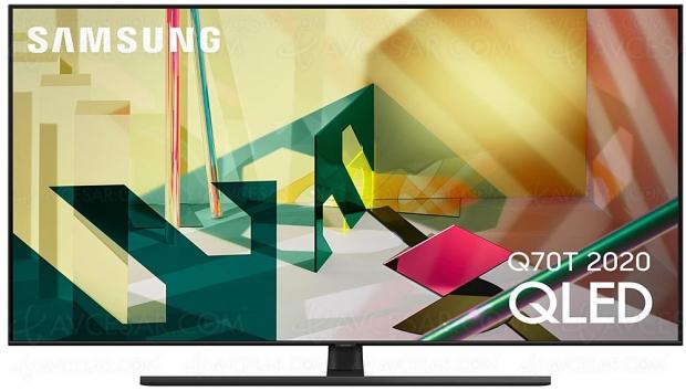 TV QLED Ultra HD/4K Samsung Q70T, mise à jour spécifications et prix indicatifs