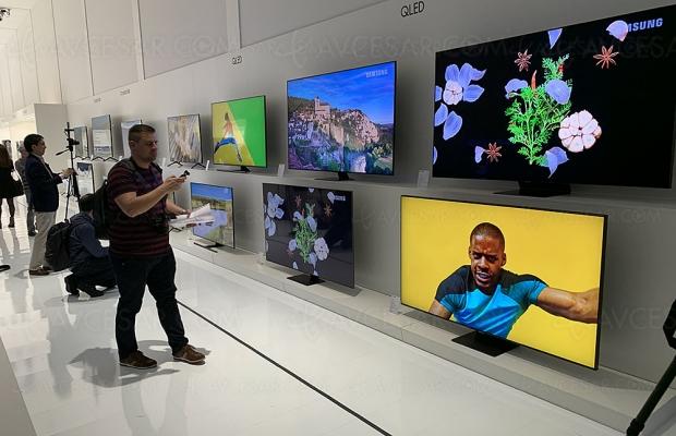 Samsung, leader mondial du marché TV 2019 pour la 14e année consécutive