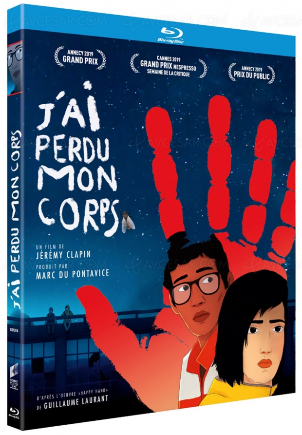 J'ai perdu mon corps : le film d'animation césarisé de Jérémy Clapin en Blu-Ray/DVD le 6 mars
