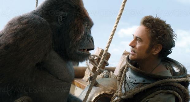 Le voyage du Dr Dolittle avec Robert Downey Jr, en juin en 4K Ultra HD