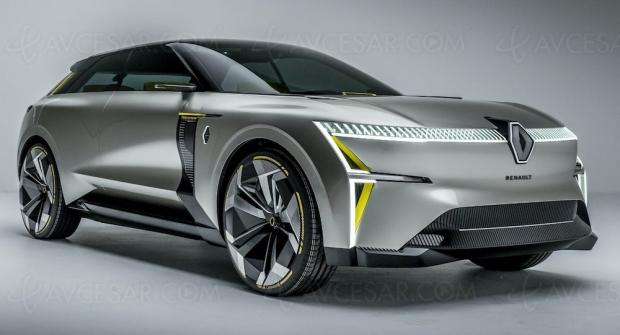 Un petit air de Transformers dans le dernier concept-car Renault Morphoz