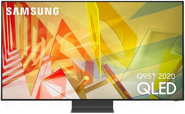 TV QLED Ultra HD 4K Samsung Q95T : mise à jour spécifications techniques et prix indicatifs