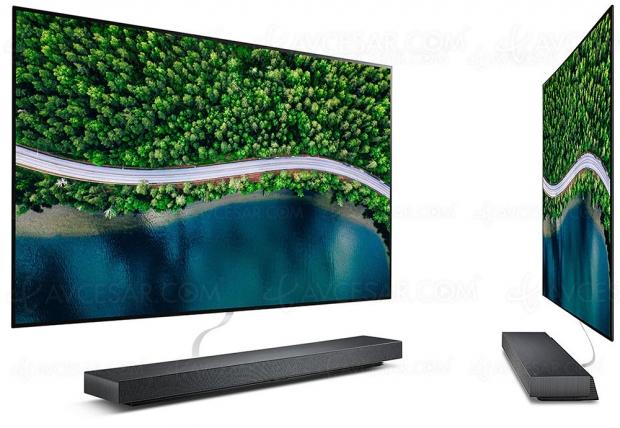TV Oled Ultra HD 4K LG WX, mise à jour spécifications et prix indicatif