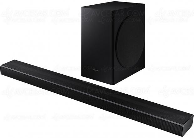 Samsung HW‑Q60T, barre sonore 5.1 Bluetooth, Acoustic Beam et Q‑Symphony